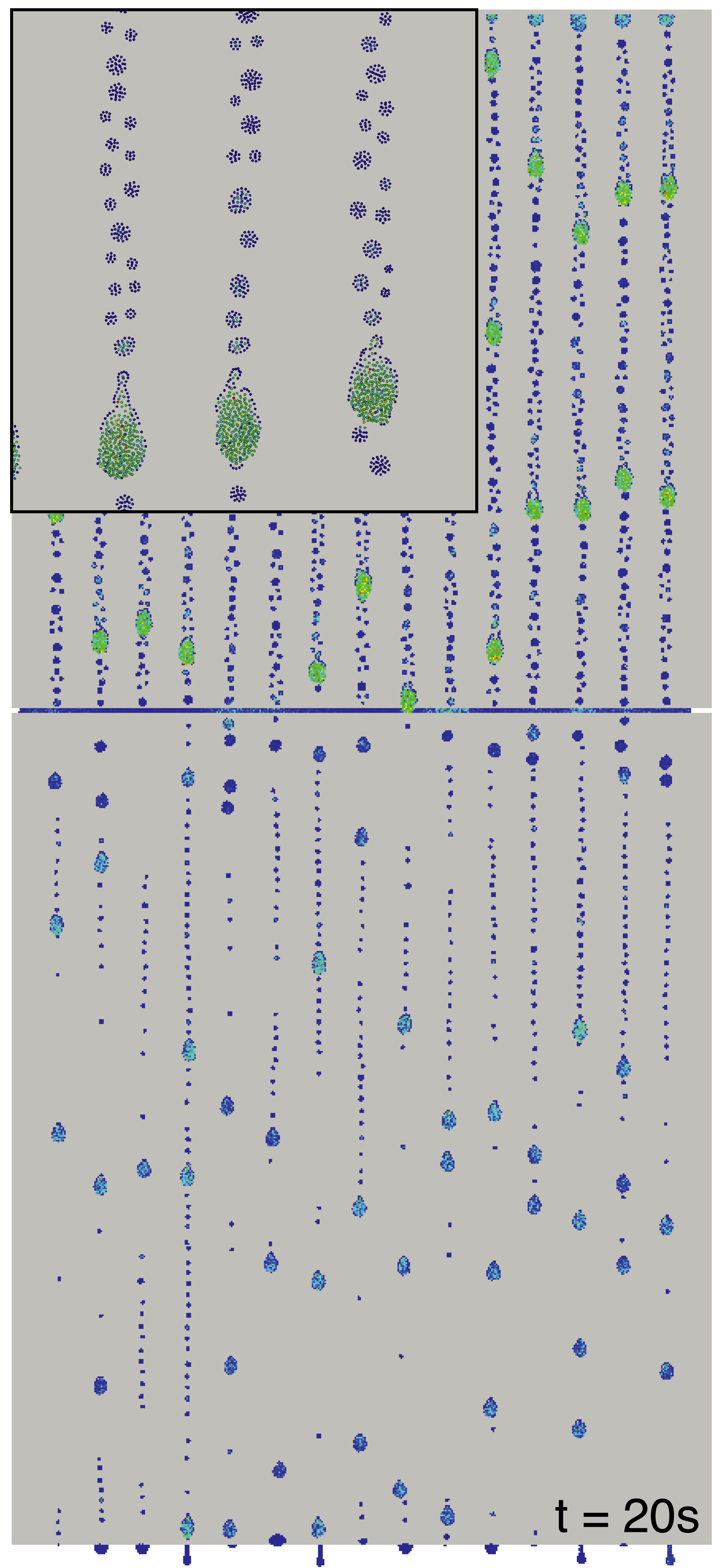 Parallelized SPH free-surface flow simulations
