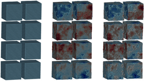 Different levels of fractal roughness for SPH simulations